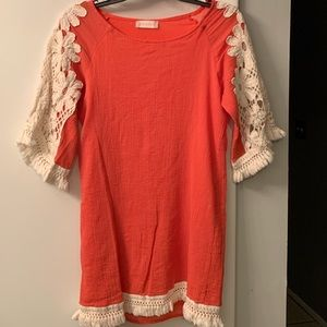 Boho Chic Cover Up or Dress